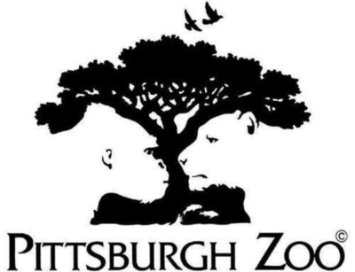 Negative Space Logo - Pittsburgh Zoo