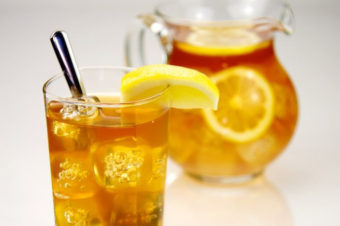 Iced Tea – No Straw, Please!