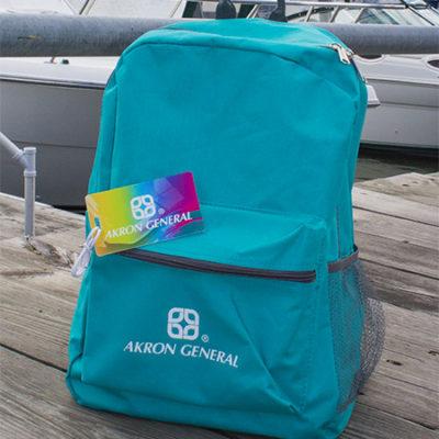 Backpack & Custom Luggage Tag