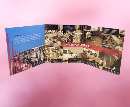 Custom Printed Brochure