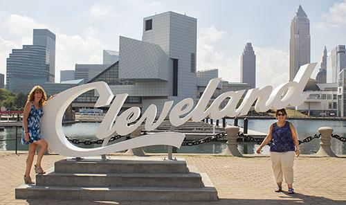 Shawna & Terri Cleveland Script Sign
