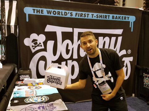 Johnny Cupcakes Tradeshow Booth