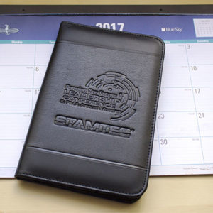 Zippered Padfolio