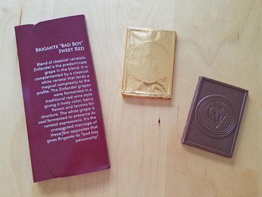 Chocolate Trio Wallet