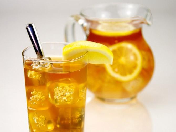 Iced Tea – No Straw, Please!
